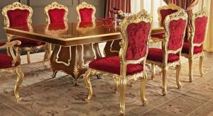 kursi-makan-jati-emas
