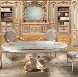 Set-Meja-Makan-Klasik-Ukir-dan-Lukis-Bulat-Pagany